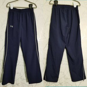Under Armour Navy Waterproof High Rise Track Pants